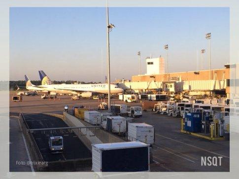 foto avion en Houston