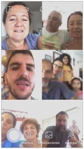 Cuarentena reunion virtual
