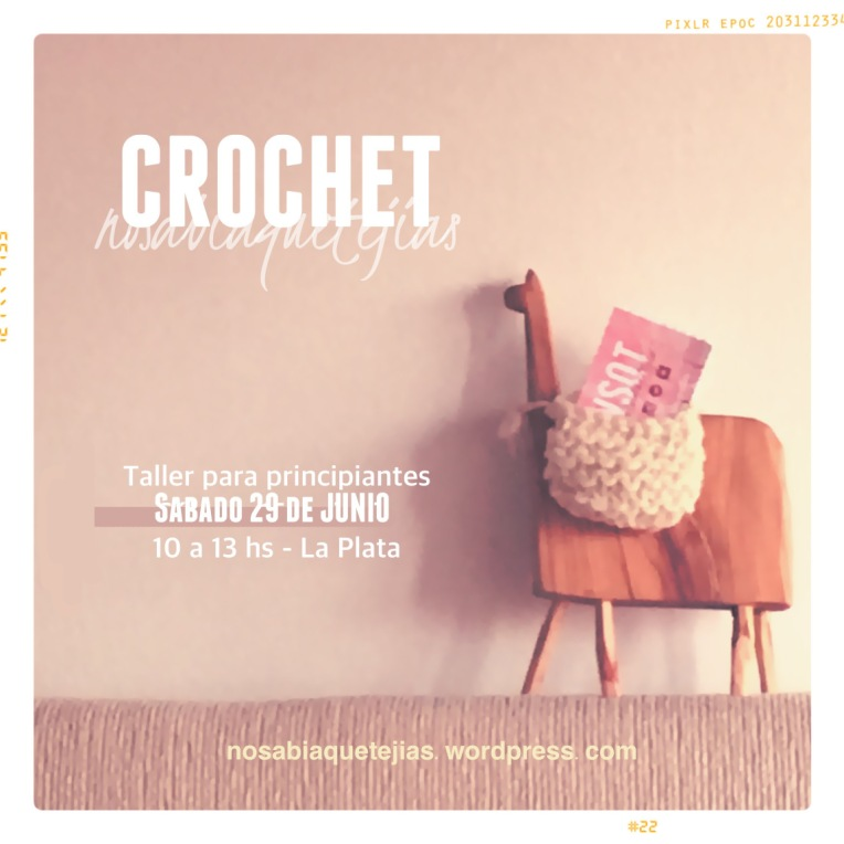 Taller crochet 2019